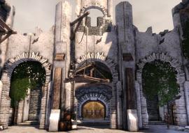 Castillo Cousland - Exterior