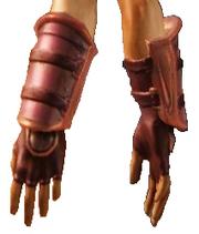 Чешуйчатые перчатки