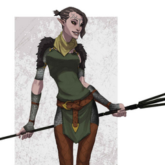 Merrill from World of Thedas Vol 2