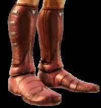 Тяжелые кольчужные ботинки