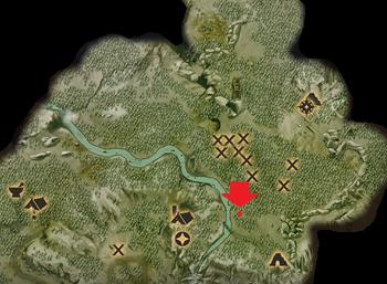 Die kleinste Höhle - Fundort des Schreins