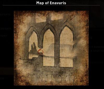 Map of Enavuris