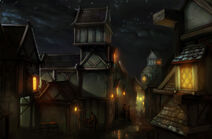 Улицы Денерима концепт