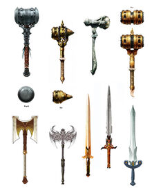 2 Handed Weapons