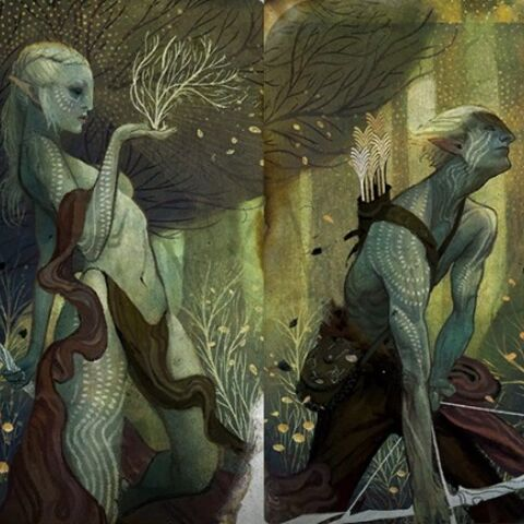 Elfin und Elf Tarotkarten