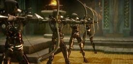 Sentinel elf archers