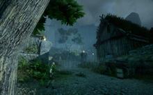Das Dorf von Kammwald