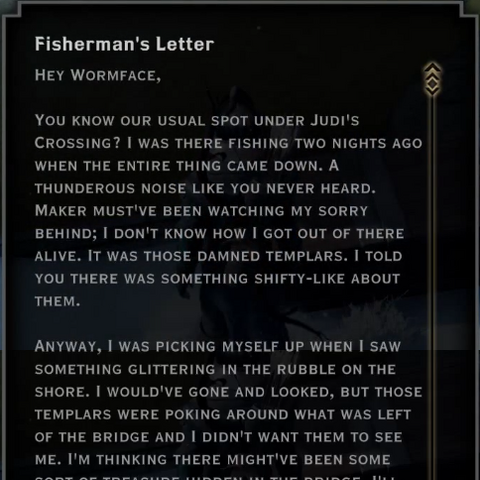 The Fisherman's letter