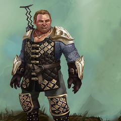 Promotional image of Artificer Varric in <i>Heroes of Dragon Age</i>