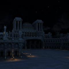 Die Große Kathedrale Nachts