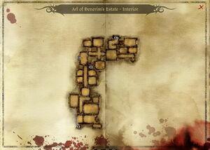 Map-Arl of Denerim's Estate - Interior