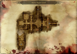 Map ruins upper level