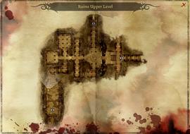 Map ruins upper level