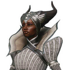 Portrait of Vivienne from character kit