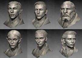 Inquisitor faces models