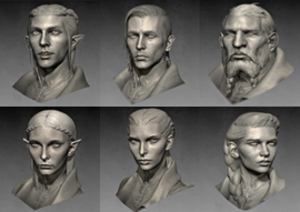 Inquisitor faces models