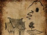 Кодекс: Карта фермерских угодий с пещерой