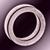 Кольцо фиолетовое