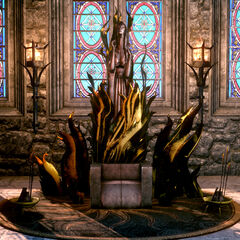 Andrastian Throne with both accessories