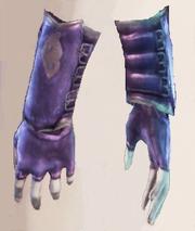 Рукавицы черных рук