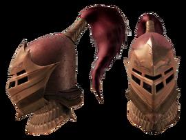 Тяжелый шлем солдата