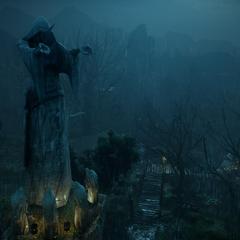 The Lights of Andraste landmark
