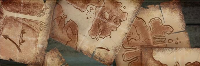 Karte von Enavuris - Font