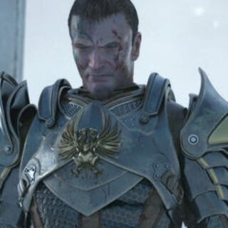 Aedan in the <i>Sacred Ashes</i> trailer