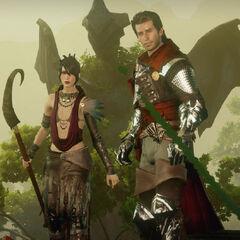 Maxwell and Morrigan