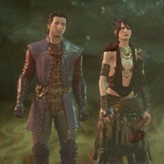 Maxwell and Morrigan in the <a href=