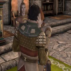 Aedan and Leliana's wedding