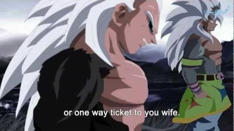 Goku SS5 and Vegeta SS5