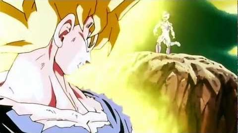 Goku Goes Super Saiyan For The First Time (HD and Remastered)