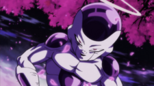 Freeza Released from His Cocoon