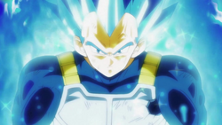 Super Saiyan God Super Saiyan Vegeta Evolved