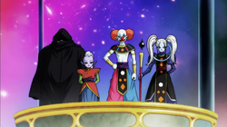 11th Universe Gods and Toppo