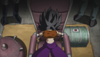 Caulifla Eating