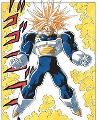 Super Trunks Manga