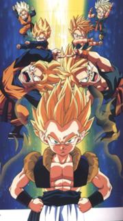 180px-SSJ Goten and Trunks fusion pose or dance = Gotenks