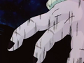 Frieza grabs gohan by the hair agian