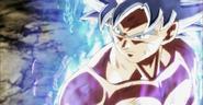 Goku egoísta perfil de lado