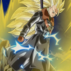 Trunks (Xeno) Super Saiyan 3.