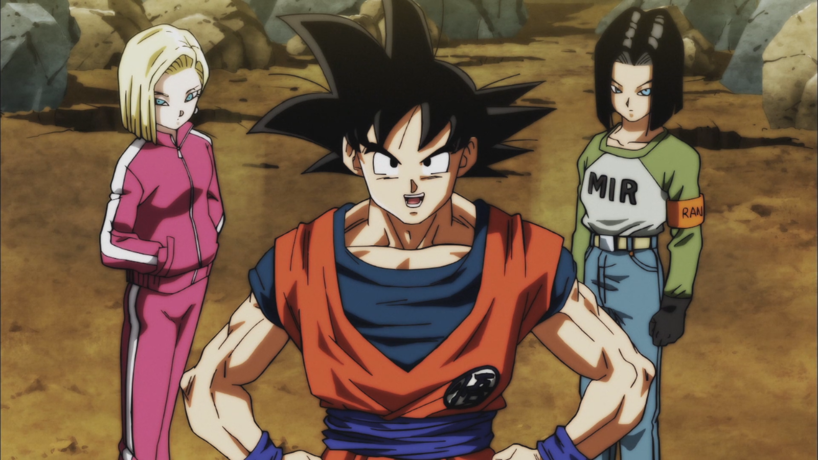 2 Quotes Image Goku Android 17 And Android 18 Dbs Png Dragon