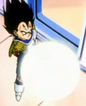 Calling the Eternal Dragon - Vegeta about to attack