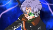 DBH God Mission 1 (GDM1) Xeno Trunks' Capsule Corp Scouter (GDM1 Trailer - Resurrection F)