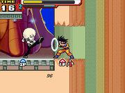 Goku blocking Super Stars