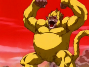Goku scimmione dorato