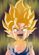 Goku ssj espacio
