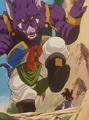 Lord Yao About to Kill Goku JR