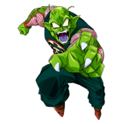 SDBH World Mission Character Sticker Giant Demon King Piccolo (Giga Rarity Sticker Render - Great Namek Demon King Piccolo)